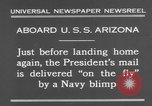 Image of President Hoover aboard USS Arizona United States USA, 1931, second 8 stock footage video 65675041983