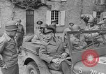 Image of Allied Forces advancing in Normandy France Normandy France, 1944, second 9 stock footage video 65675041993