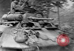 Image of Allied Forces advancing in Normandy France Normandy France, 1944, second 52 stock footage video 65675041993