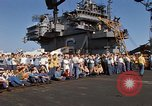 Image of USS Constellation South China Sea, 1967, second 39 stock footage video 65675042005