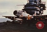 Image of United States Navy aircraft North Vietnam, 1968, second 3 stock footage video 65675042014