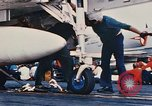 Image of United States Navy aircraft North Vietnam, 1968, second 32 stock footage video 65675042015