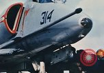 Image of United States Navy aircraft North Vietnam, 1968, second 33 stock footage video 65675042015