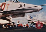 Image of United States Navy aircraft North Vietnam, 1968, second 42 stock footage video 65675042015