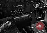Image of controls of engine Eglin Air Force Base Okaloosa County Florida USA, 1952, second 51 stock footage video 65675042022