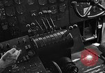 Image of controls of engine Eglin Air Force Base Okaloosa County Florida USA, 1952, second 52 stock footage video 65675042022