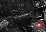 Image of controls of engine Eglin Air Force Base Okaloosa County Florida USA, 1952, second 53 stock footage video 65675042022