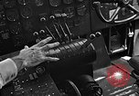 Image of controls of engine Eglin Air Force Base Okaloosa County Florida USA, 1952, second 54 stock footage video 65675042022