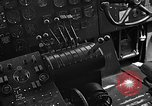 Image of controls of engine Eglin Air Force Base Okaloosa County Florida USA, 1952, second 55 stock footage video 65675042022