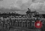Image of fire fighting equipment Eglin Air Force Base Okaloosa County Florida USA, 1952, second 25 stock footage video 65675042024
