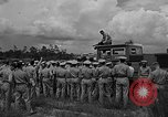 Image of fire fighting equipment Eglin Air Force Base Okaloosa County Florida USA, 1952, second 26 stock footage video 65675042024