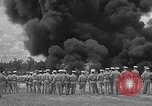 Image of fire fighting equipment Eglin Air Force Base Okaloosa County Florida USA, 1952, second 32 stock footage video 65675042024