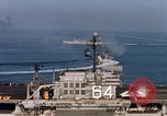 Image of USS Constellation San Clemente Island California USA, 1963, second 42 stock footage video 65675042043