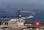 Image of USS Constellation San Clemente Island California USA, 1963, second 44 stock footage video 65675042043