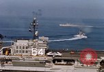 Image of USS Constellation San Clemente Island California USA, 1963, second 46 stock footage video 65675042043