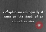Image of amphibious plane United States USA, 1925, second 28 stock footage video 65675042065