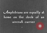 Image of amphibious plane United States USA, 1925, second 32 stock footage video 65675042065