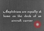 Image of amphibious plane United States USA, 1925, second 33 stock footage video 65675042065