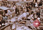 Image of market place Hiroshima Japan, 1946, second 15 stock footage video 65675042139