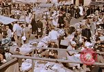 Image of market place Hiroshima Japan, 1946, second 16 stock footage video 65675042139
