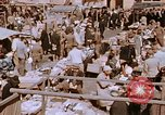 Image of market place Hiroshima Japan, 1946, second 17 stock footage video 65675042139