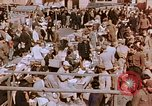 Image of market place Hiroshima Japan, 1946, second 21 stock footage video 65675042139