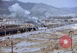 Image of railroad train Nagasaki Japan, 1946, second 27 stock footage video 65675042151