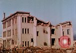 Image of destructed buildings Hiroshima Japan, 1946, second 12 stock footage video 65675042158