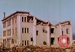 Image of destructed buildings Hiroshima Japan, 1946, second 17 stock footage video 65675042158
