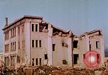 Image of destructed buildings Hiroshima Japan, 1946, second 18 stock footage video 65675042158