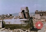 Image of destructed building Hiroshima Japan, 1946, second 8 stock footage video 65675042168