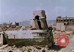 Image of destructed building Hiroshima Japan, 1946, second 9 stock footage video 65675042168
