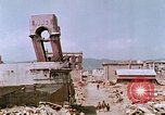 Image of destructed building Hiroshima Japan, 1946, second 34 stock footage video 65675042168