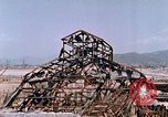 Image of destructed building Hiroshima Japan, 1946, second 57 stock footage video 65675042168