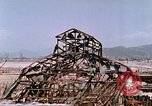Image of destructed building Hiroshima Japan, 1946, second 58 stock footage video 65675042168