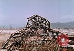Image of destructed building Hiroshima Japan, 1946, second 59 stock footage video 65675042168