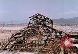 Image of destructed building Hiroshima Japan, 1946, second 62 stock footage video 65675042168