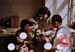 Image of victim of atomic explosion Hiroshima Japan, 1946, second 7 stock footage video 65675042174