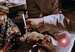 Image of victim of atomic explosion Hiroshima Japan, 1946, second 50 stock footage video 65675042174