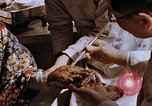 Image of victim of atomic explosion Hiroshima Japan, 1946, second 62 stock footage video 65675042174