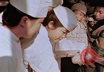 Image of atomic bomb victims receive medical treatment Hiroshima Japan, 1946, second 40 stock footage video 65675042179