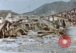 Image of fire truck trapped Nagasaki Japan, 1946, second 2 stock footage video 65675042182