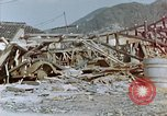 Image of fire truck trapped Nagasaki Japan, 1946, second 3 stock footage video 65675042182