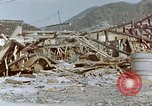 Image of fire truck trapped Nagasaki Japan, 1946, second 5 stock footage video 65675042182