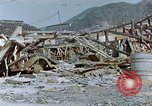 Image of fire truck trapped Nagasaki Japan, 1946, second 7 stock footage video 65675042182