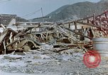 Image of fire truck trapped Nagasaki Japan, 1946, second 8 stock footage video 65675042182