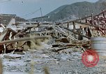 Image of fire truck trapped Nagasaki Japan, 1946, second 9 stock footage video 65675042182