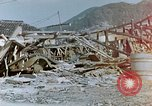 Image of fire truck trapped Nagasaki Japan, 1946, second 11 stock footage video 65675042182