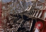 Image of fire truck trapped Nagasaki Japan, 1946, second 14 stock footage video 65675042182