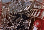 Image of fire truck trapped Nagasaki Japan, 1946, second 16 stock footage video 65675042182